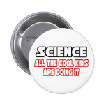Science...Cool Kids 6 Cm Round Badge