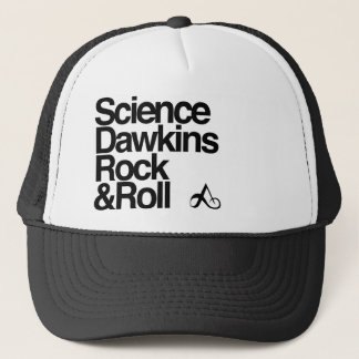 Science dawkins rock & roll trucker hat