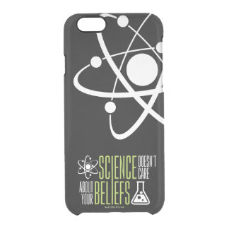 Science Doesn't Care Clear iPhone 6/6S Case