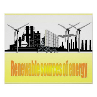 Science, Electricity Renewable energy sources Posters