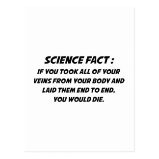Science Fact Postcard