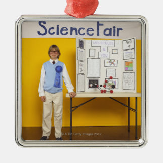 Science fair winner christmas ornament