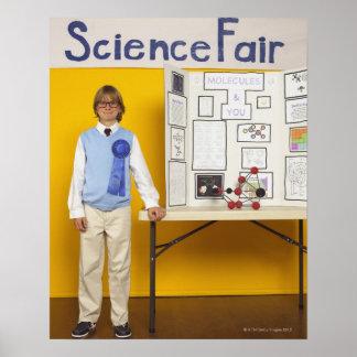 Science fair winner poster