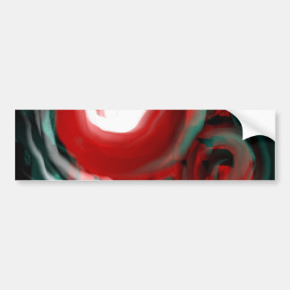 Science Fiction Abstract Bumper Sticker
