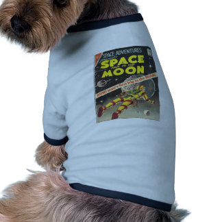 Science Fiction Comic 1 Pet Tee Shirt