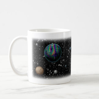 Science fiction planets mug