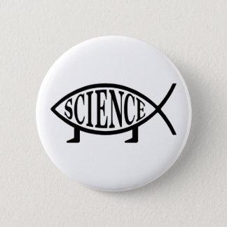 Science Fish 6 Cm Round Badge