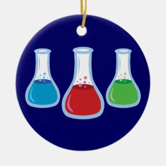 Science Flasks Christmas Ornament