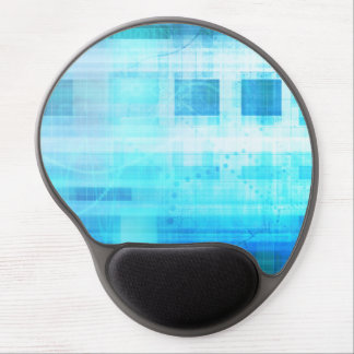 Science Futuristic Internet Computer Technology Gel Mouse Pad