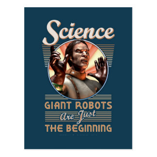 Science: Giant Robots Are Just the Beginning Postcards