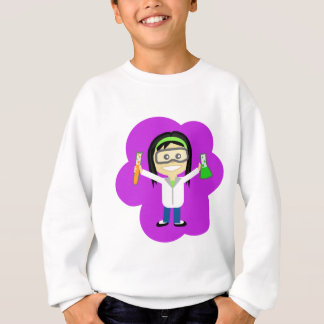 Science Girl Sweatshirt