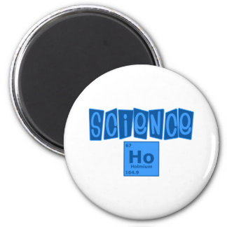 Science Ho 6 Cm Round Magnet