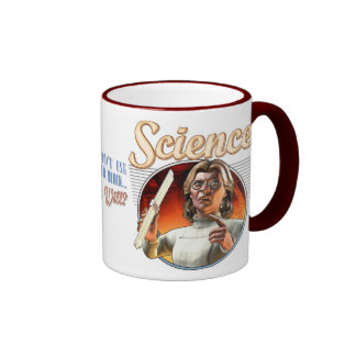 Science: If You Don't Use Your Brain, Who Will? Ringer Mug
