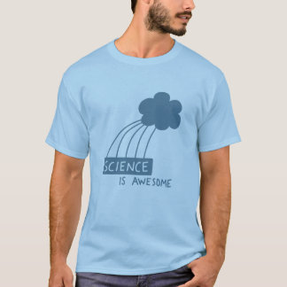 Science Is Awesome (steel blue) T-Shirt