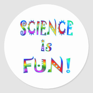 Science is Fun Stickers