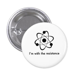 Science is real 3 cm round badge