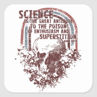 Science is the Great Antidote Stickers