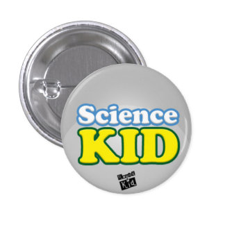 Science kid button