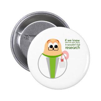Science Lab Researcher Button