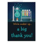 Science Laboratory Birthday Thank You Postcard