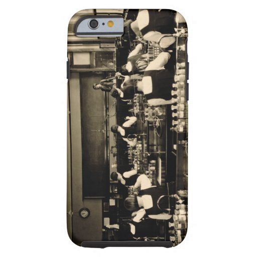 Science Lesson at the London Grammar School for Gi iPhone 6 Case