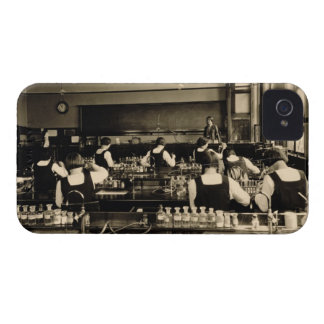 Science Lesson at the London Grammar School for Gi iPhone 4 Covers