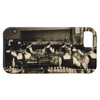 Science Lesson at the London Grammar School for Gi iPhone 5 Cover