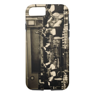 Science Lesson at the London Grammar School for Gi iPhone 8/7 Case