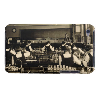 Science Lesson at the London Grammar School for Gi iPod Touch Cases