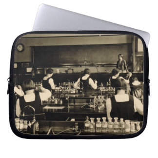 Science Lesson at the London Grammar School for Gi Laptop Sleeve