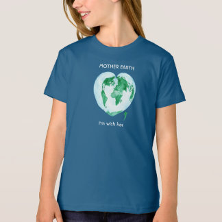 Science March Girls T-Shirt - Mother Earth