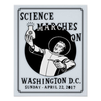 Science Marches On Poster