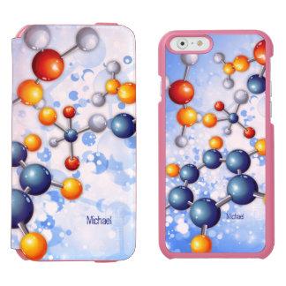 Science Medicine  Atom Molecule Research Incipio Watson™ iPhone 6 Wallet Case