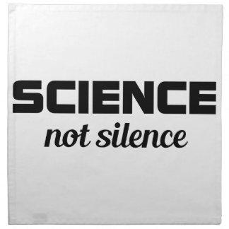 Science not Silence Napkin