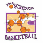 science of basketball acrylic cut out