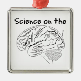 Science on the Brain Christmas Ornament