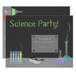 Science Party Invitation