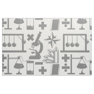 Science Pattern Fabric
