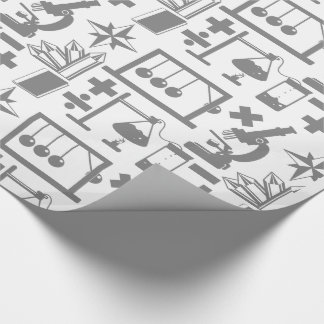 Science Pattern Wrapping Paper