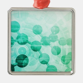 Science Research Christmas Ornament