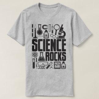 Science Rocks Lab Equipment Chemistry Biology Tee