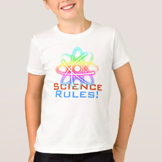 Science Rules! - Colorful Atom (001) T-shirt