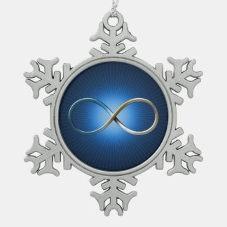Science Rules | Infinity Geek Gifts Pewter Snowflake Decoration