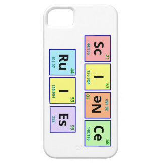Science rules iPhone 5 cover