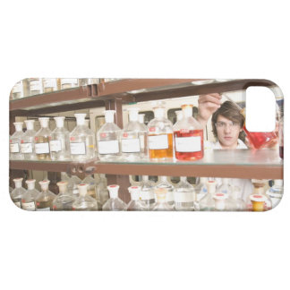 Science student in classroom iPhone 5 covers