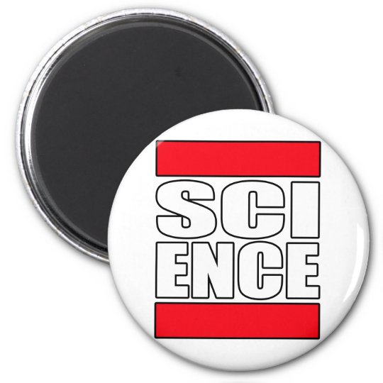 Science t shirt magnet