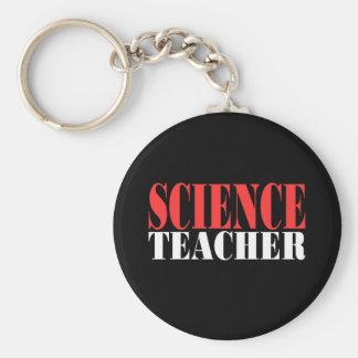 Science Teacher Gift Basic Round Button Key Ring