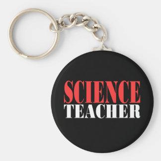 Science Teacher,new black shirts Basic Round Button Key Ring