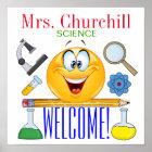 Science Teacher Poster - SRF