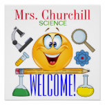 Science Teacher Poster - SRF